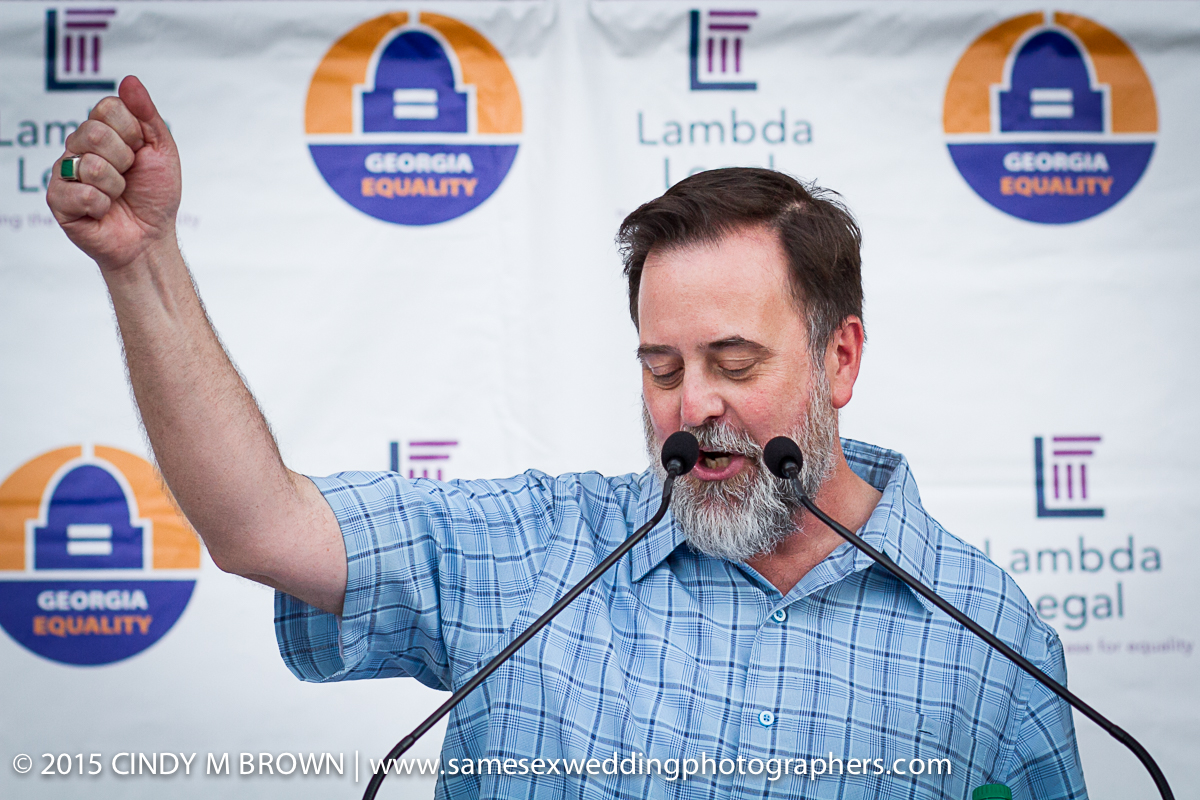 Our staunch advocate Jeff Graham of Georgia Equality.