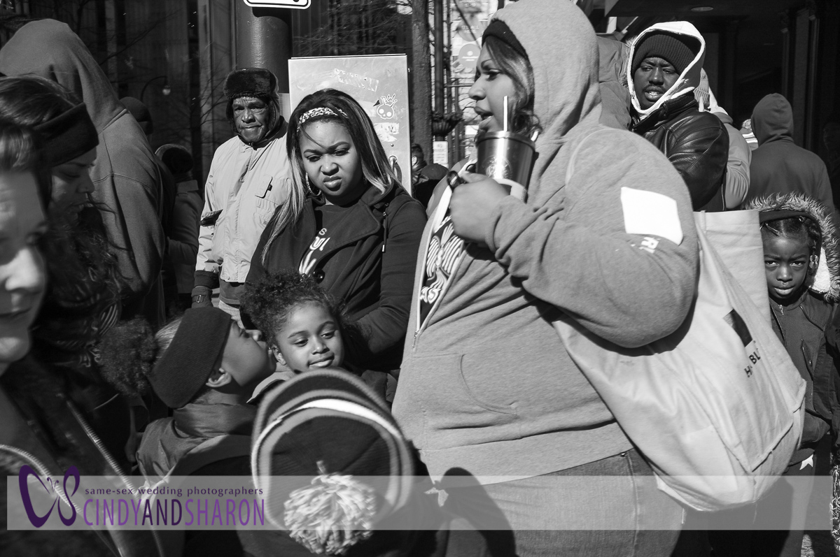 Martin Luther King Parade in Atlanta shot with Fuji X100