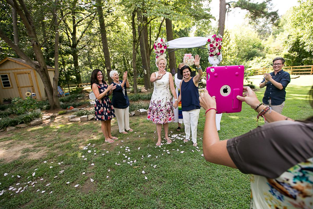 Tracy and Heidi's Wedding and Floataway Reception