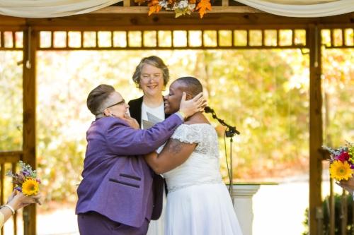 Meg and Kadesha's Forest Hills Resort Wedding