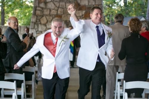 gay wedding photography Stone Mountain