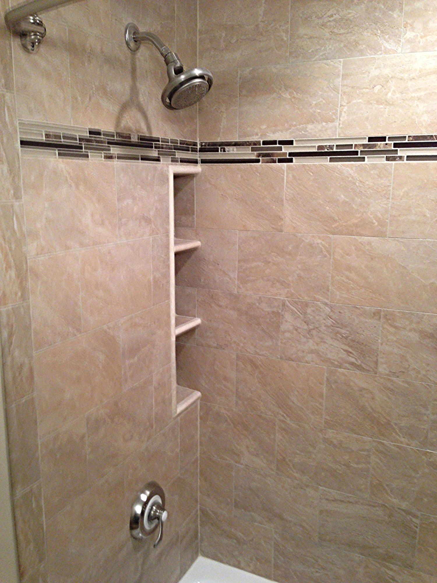 """12"""" x 36"""" niche in tub surround"""