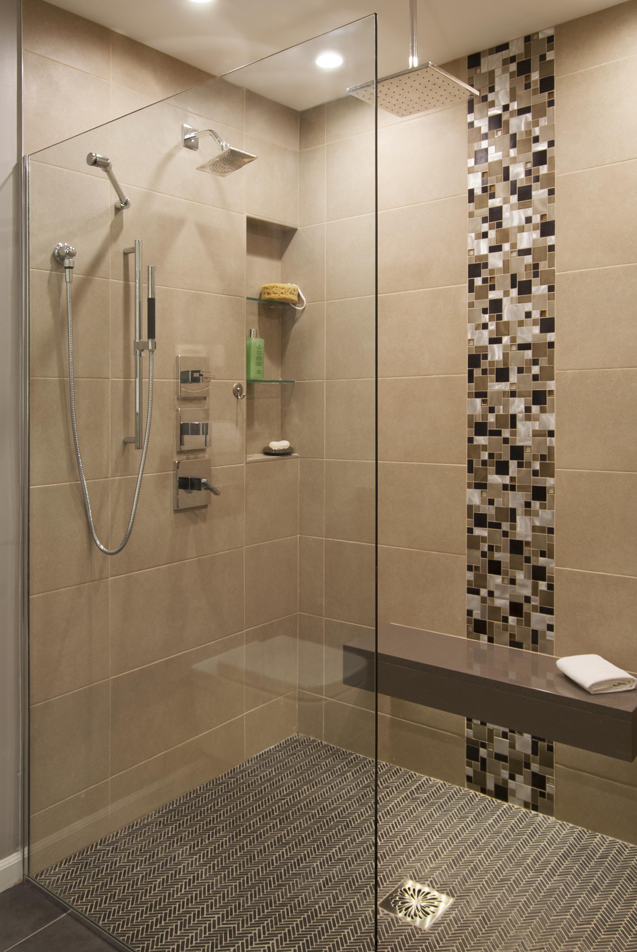 Large open modern bath