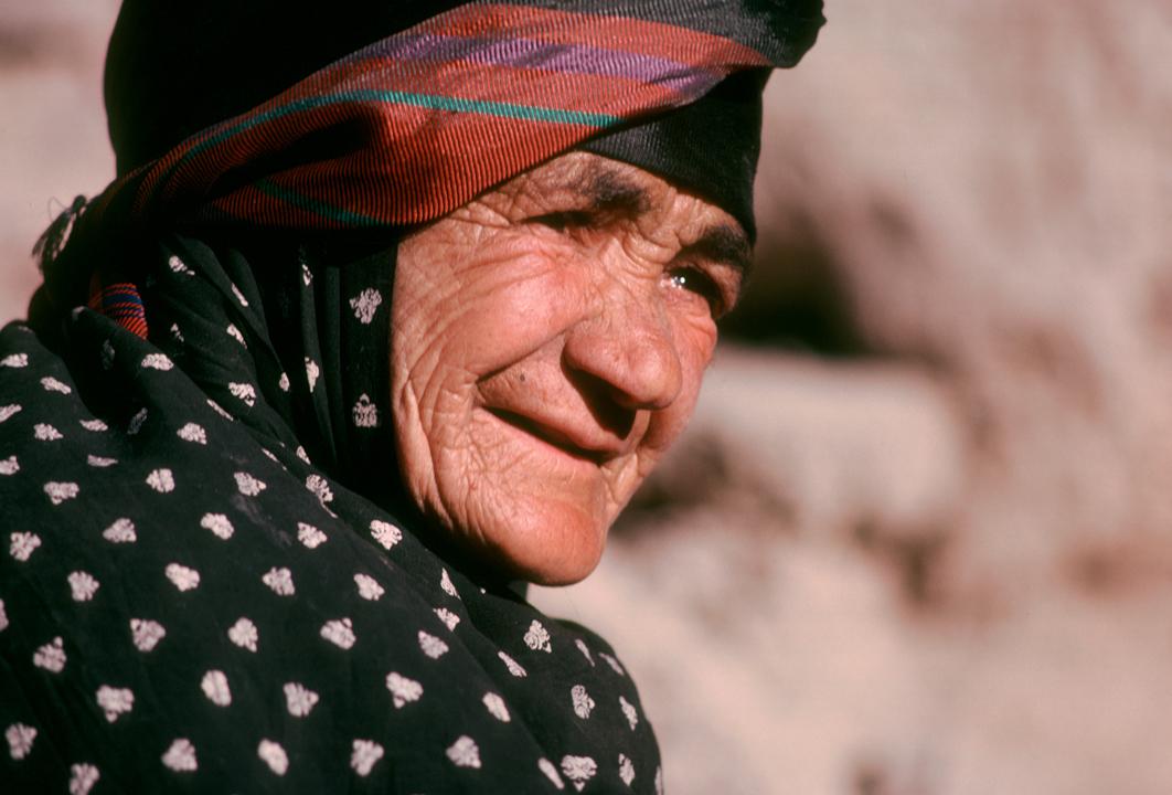woman headband