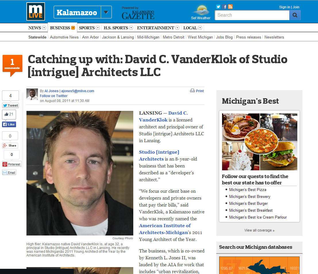 Mlive - Catching up with Dave.jpg