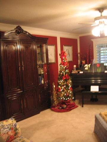 Even a small tree adds a bit of Holiday to any room!