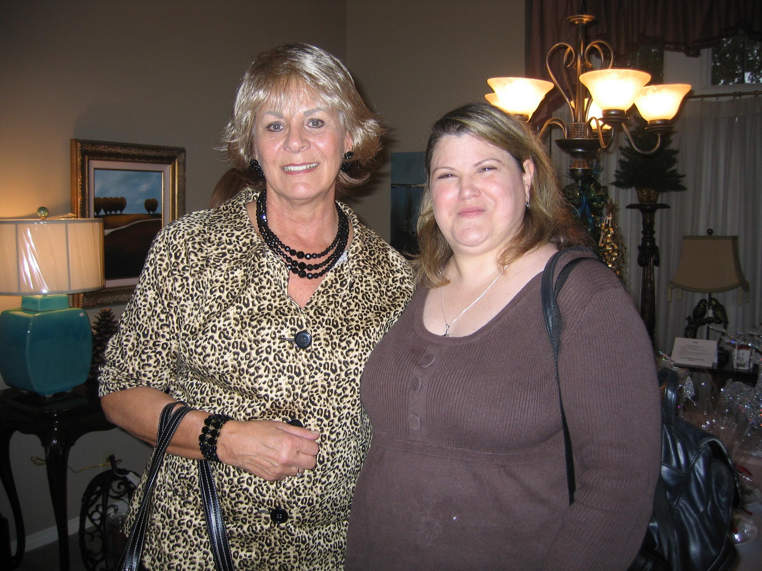 Me w/former Fabricut Showroom Manager & long time friend; Jana McKee