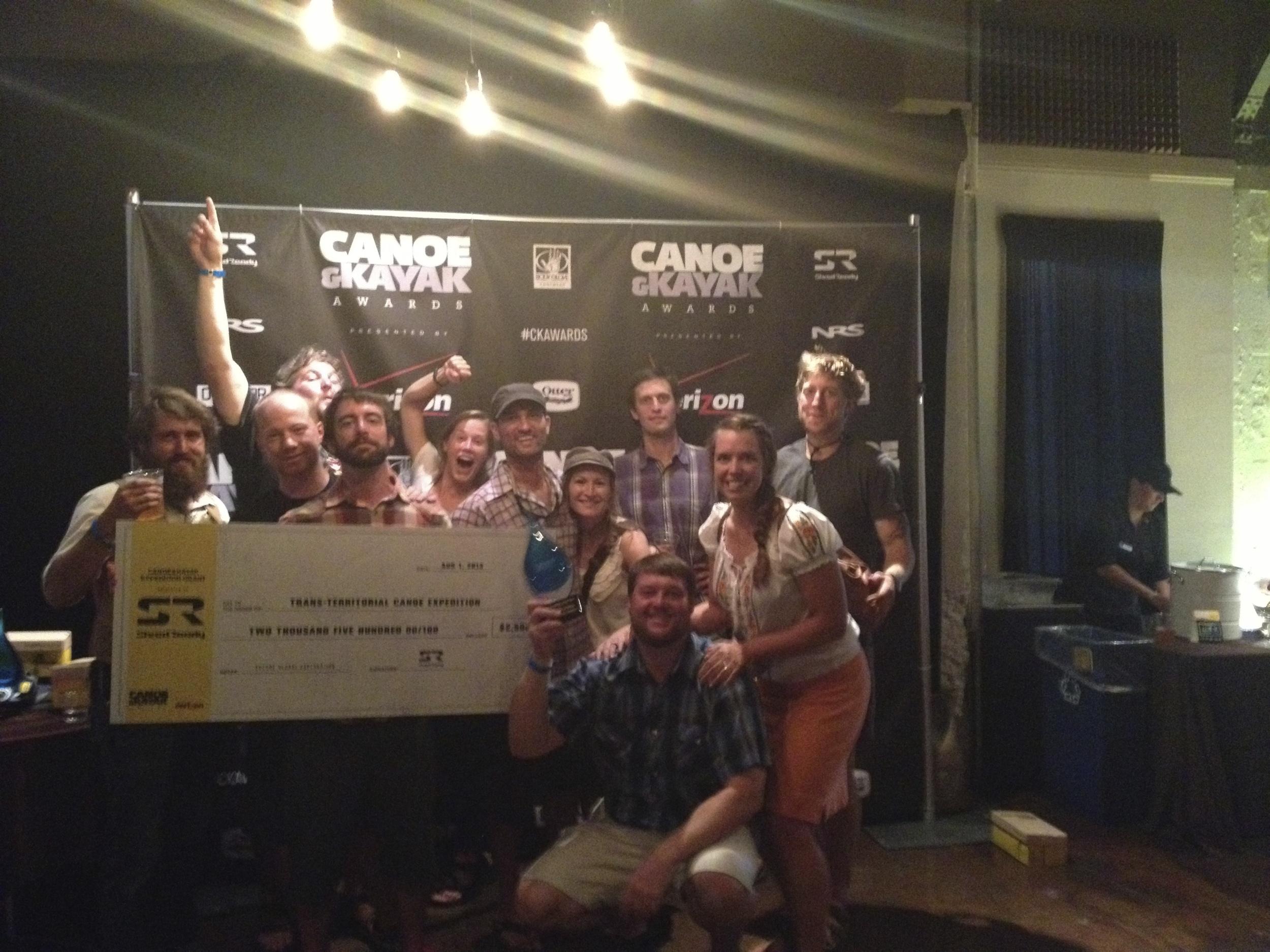 Fun photo shoot at the Canoe and Kayak Awards in Salt Lake City (Summer 2013)