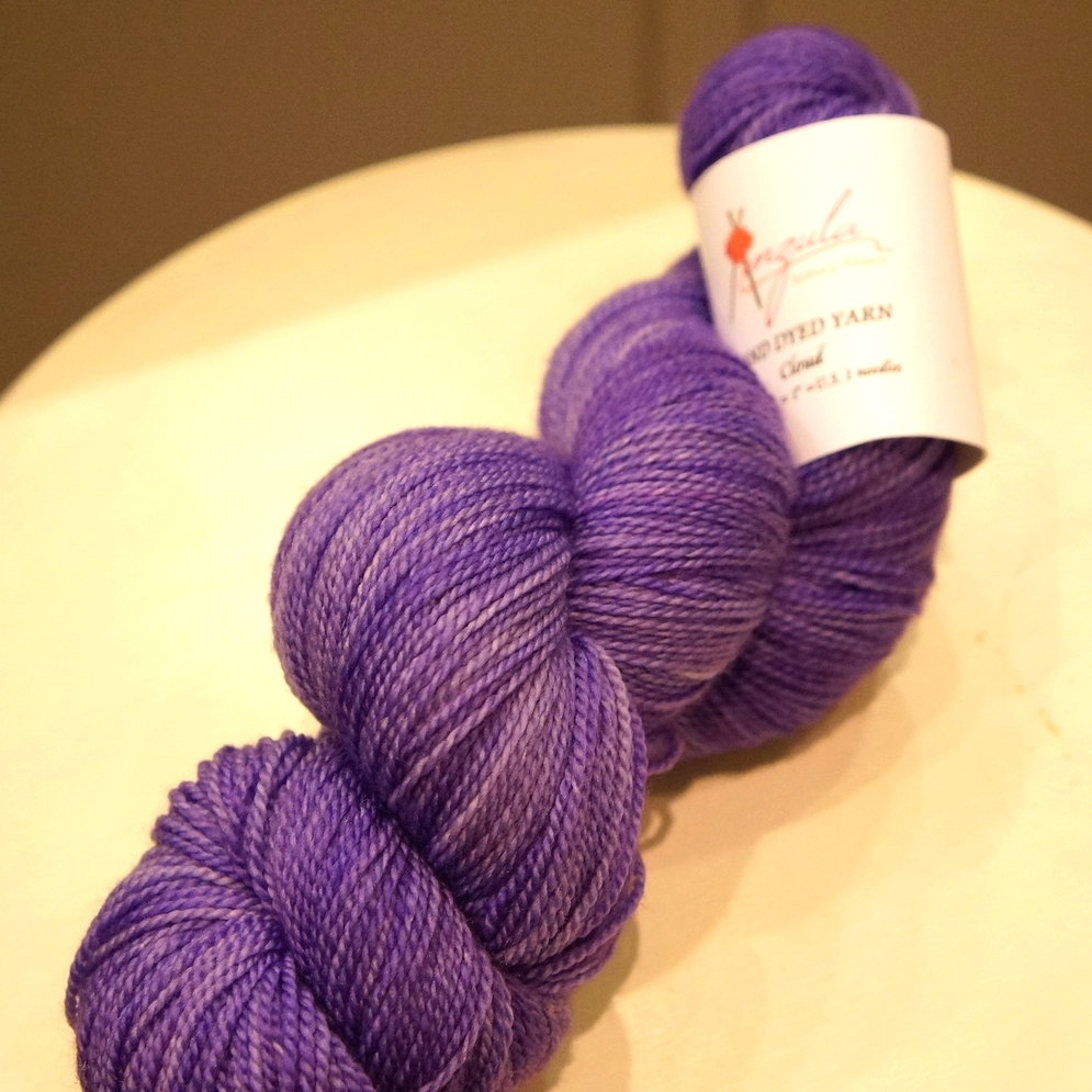 """Anzula Cloud in """"Prince"""" colorway."""