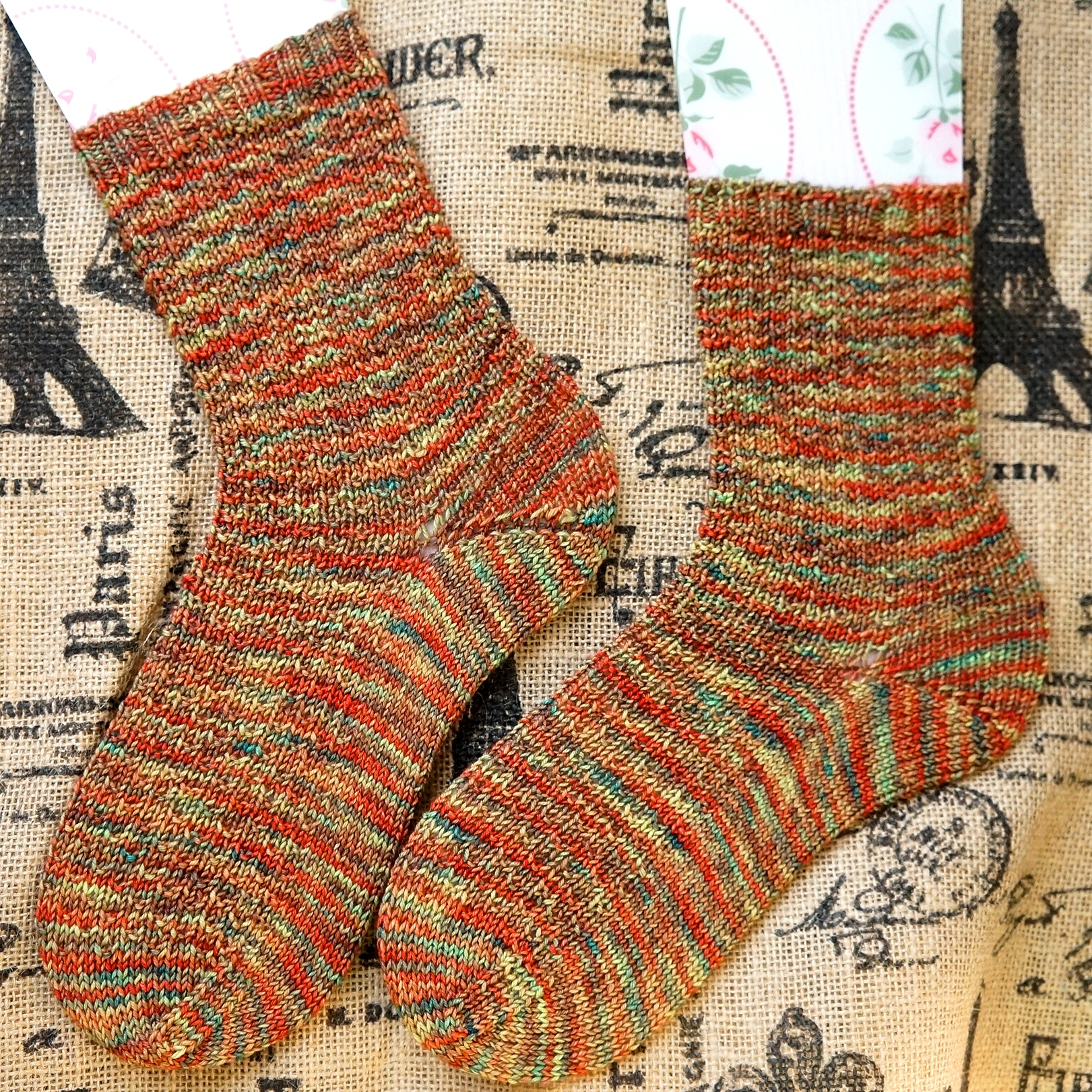 Finished Hermoine's Everyday Socks!