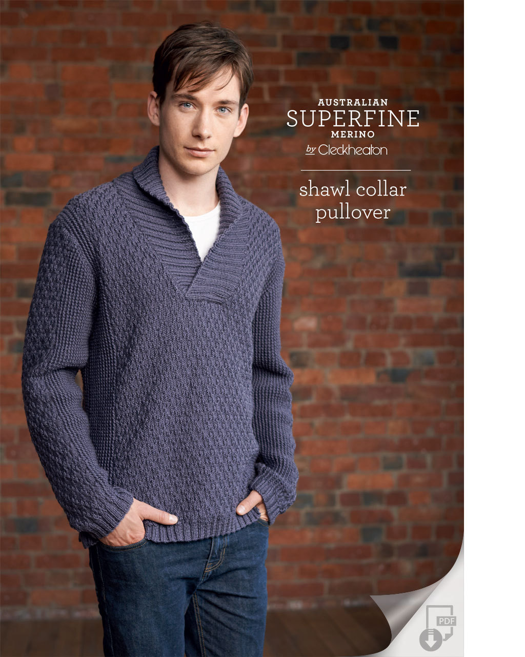 Shawl collar pullover by Cleckheaton2.jpg