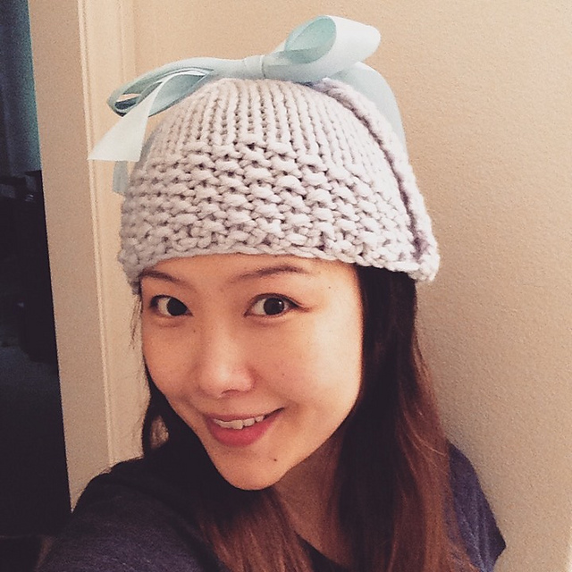 Fawn Ear Flap hat from  Boutique Knits