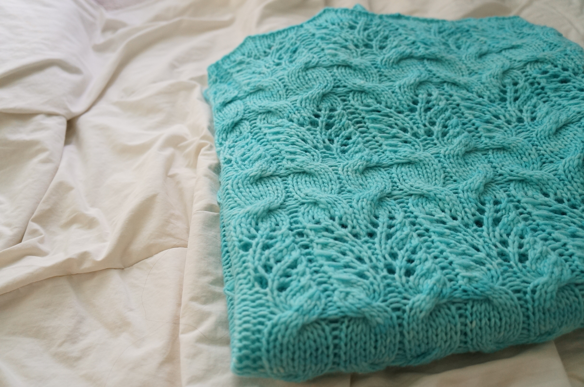 Movie Night Blanket by Jean Chung, in  Holla Knits Home  edition in 2014.