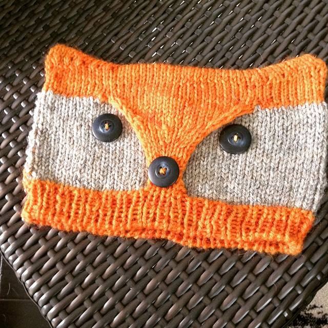 Foxy & Wolfie Hat for Logan.