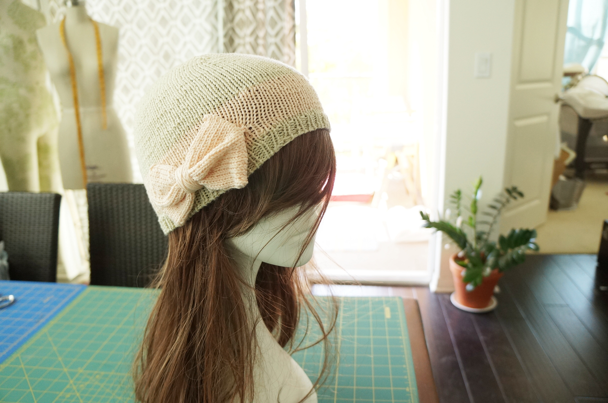 Original Design: Hat with a bow (2)