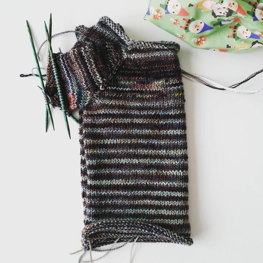 2nd sock yarn sweater for Logan | Handcrafted Fashion at  www.candyandbagel.com