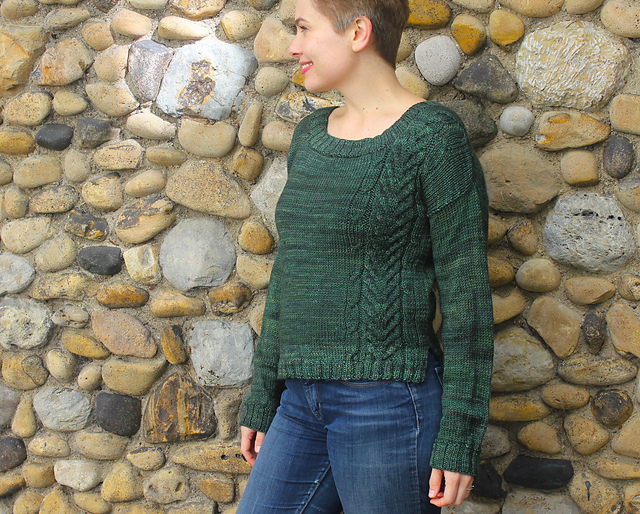{Winter Forest}   Holla Knits Winter 2016