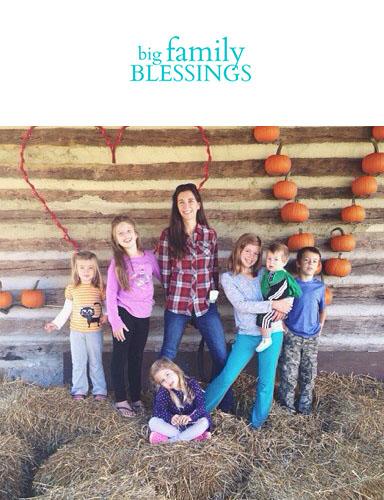 Visit Big Family Blessings on Instagram