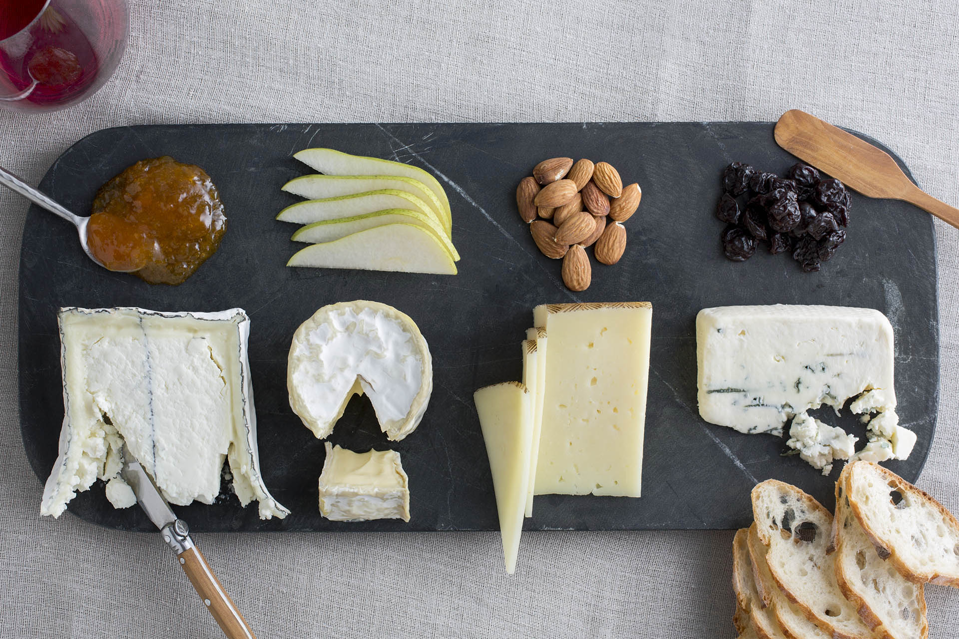 "Wine Enthusiast Magazine - ""How to Build A Cheese Board Like a Pro."" Writing and styling."