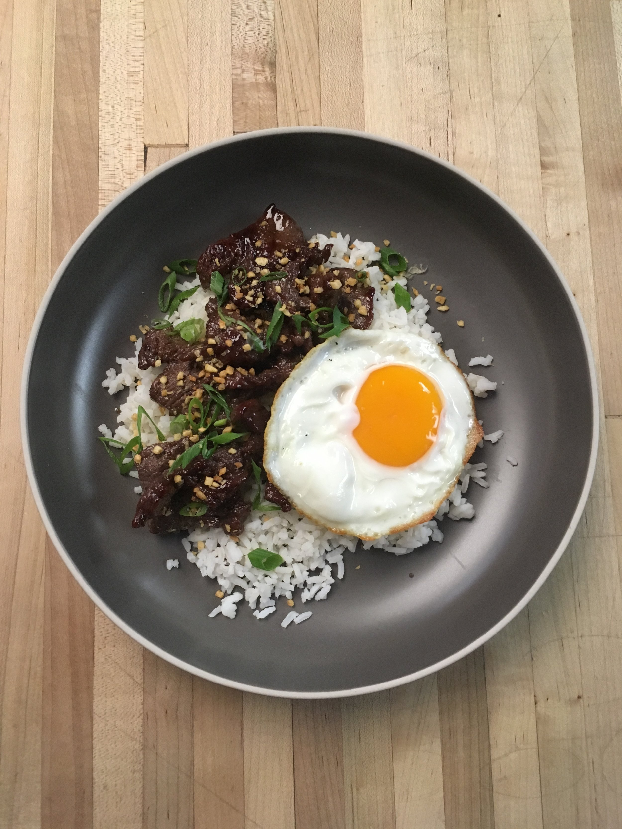 "American Egg Board x Thrillist - ""Tapsilog,"" On-camera demo, recipe development"