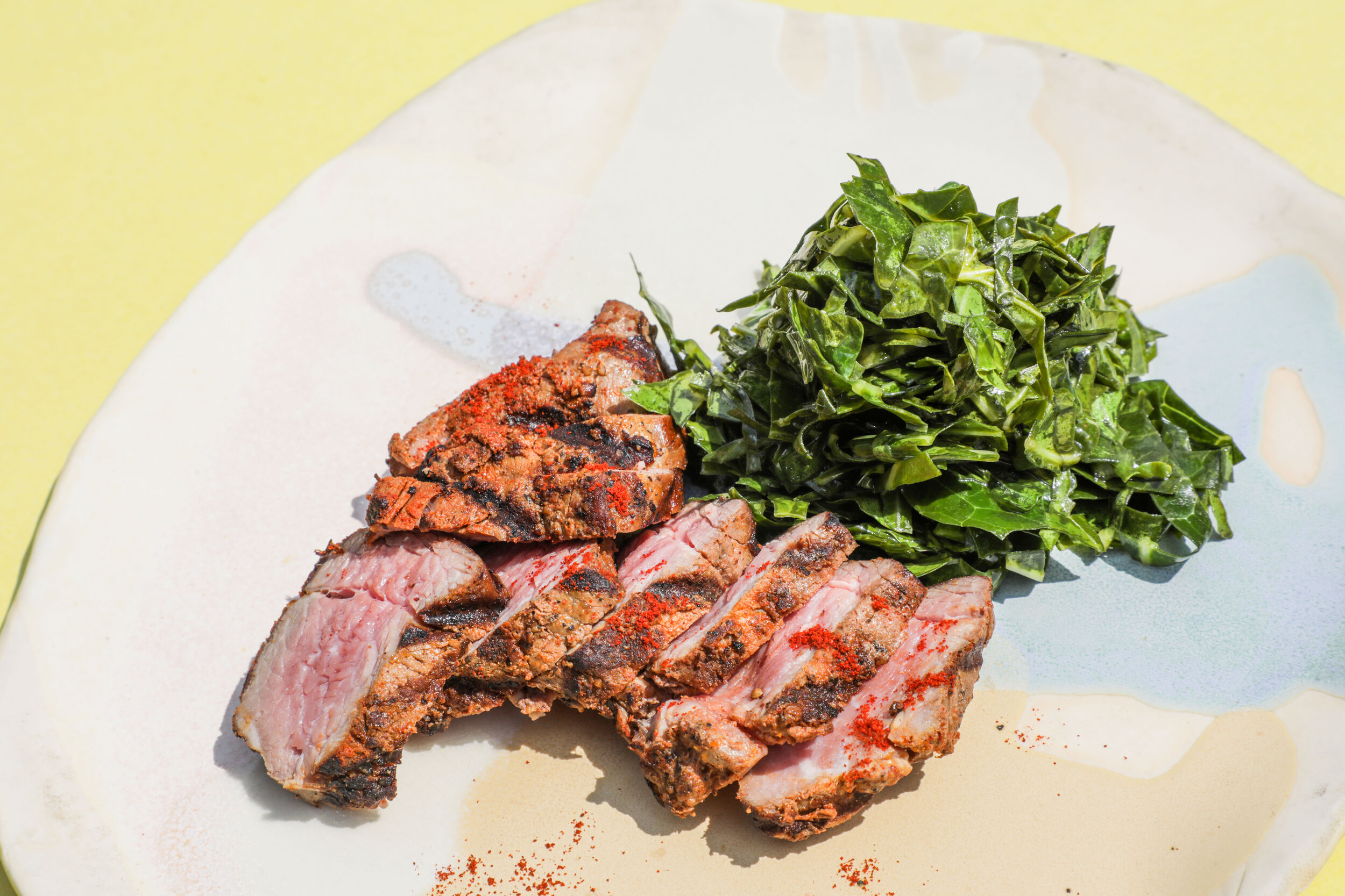 #MadeWithLocalRoots: Grilled Tri-tip with Chimichurri