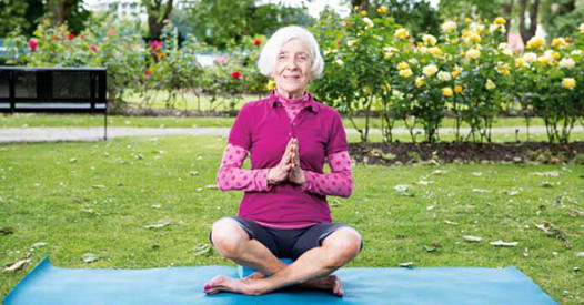 "Yoga Teacher at 83    Elisabeth Wengersky has never been one for sitting around. As far as she's concerned, park benches are not for resting weary bones, but more of a yoga prop when the weather allows for some outdoor exercise.    While most 82 year olds might consider a Sunday walk in the country or a game of bowls a decent bash at exercise, Elisabeth is probably dashing across London from her home in St John's Wood to teach yoga to students a fraction of her age, which she does several times a week.    Her Thursday schedule consists of trekking from north to south London for a lunchtime class at the Virgin Active Club in Fulham, then returning home. During the day she might get creative making birthday cards for her huge circle of family and friends or preparing supper for a friend.    A few hours later it's back across town for her second class at Virgin Active, which begins at 7pm.    Not content with this level of activity, this lively and charming lady also manages to fit in four two-hour sessions as a participant. However, this is nothing compared to her early days of teaching when she would sometimes teach five classes in a day.    Elisabeth learned the yoga of BKS Iyengar, often called ""the father of yoga"". Every single pose must be practised to perfection using intense focus, even down to making sure the inner edge of your big toe is pushing down, for example."