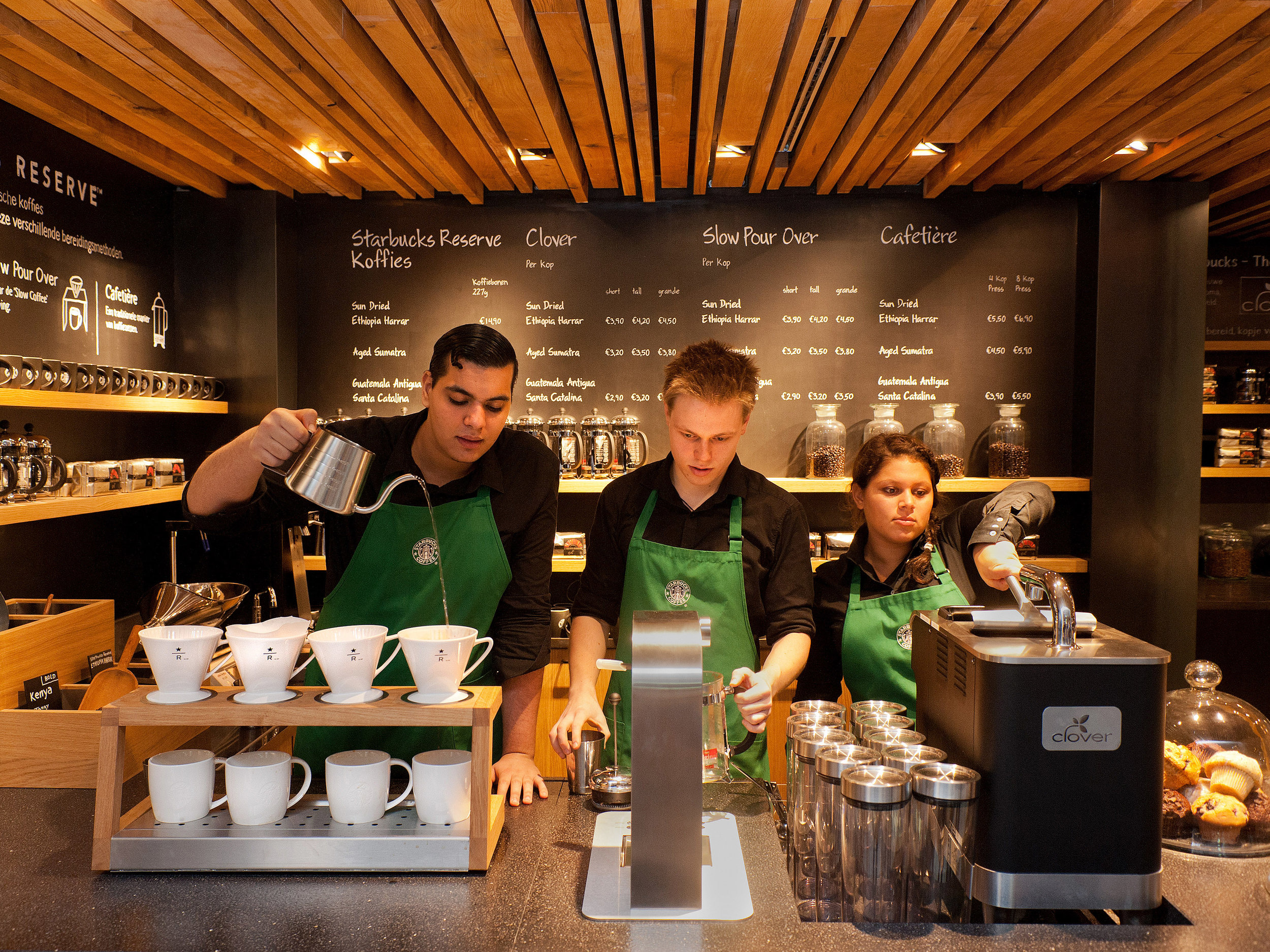 Starbucks' global dominance could not be predicted.