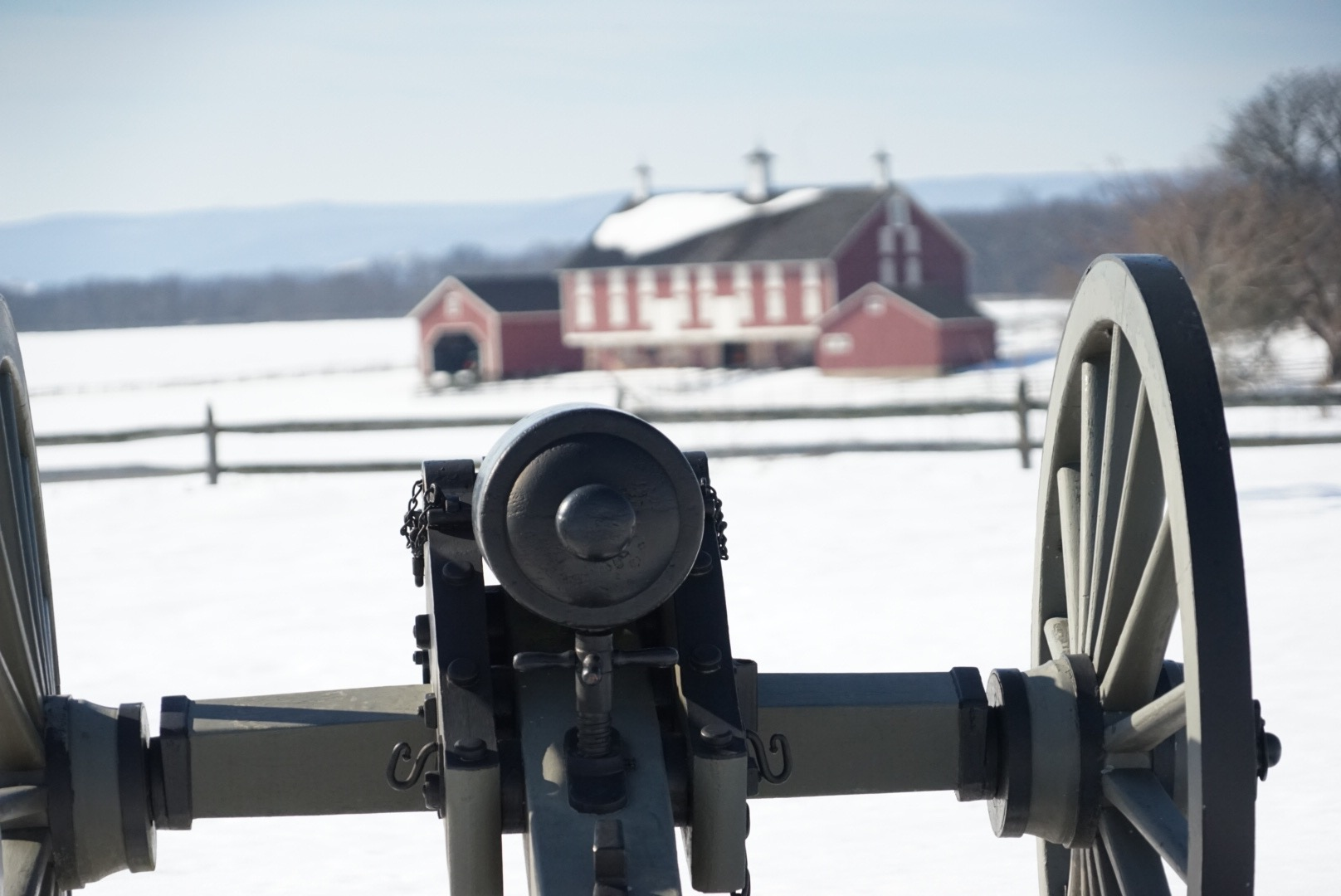 Cannon at the Gettysburg National Historic Battlefield