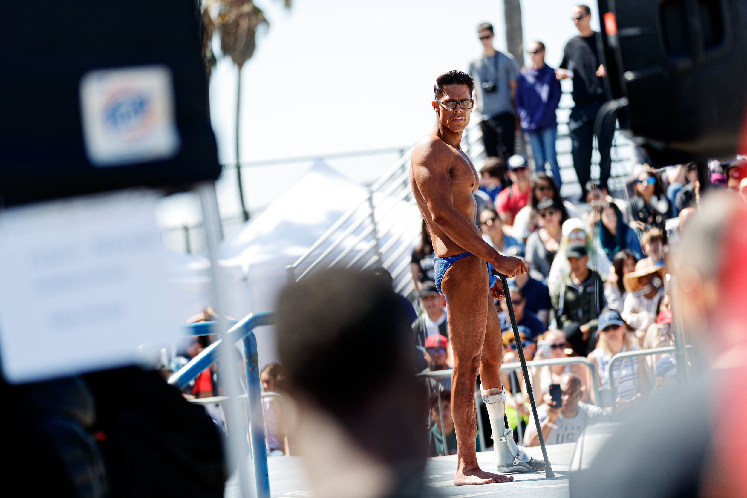 Muscle Beach International Classic at Muscle Beach on May 27, 2019 in Venice Beach, Calif.. (Photo by Bryan Bennett)