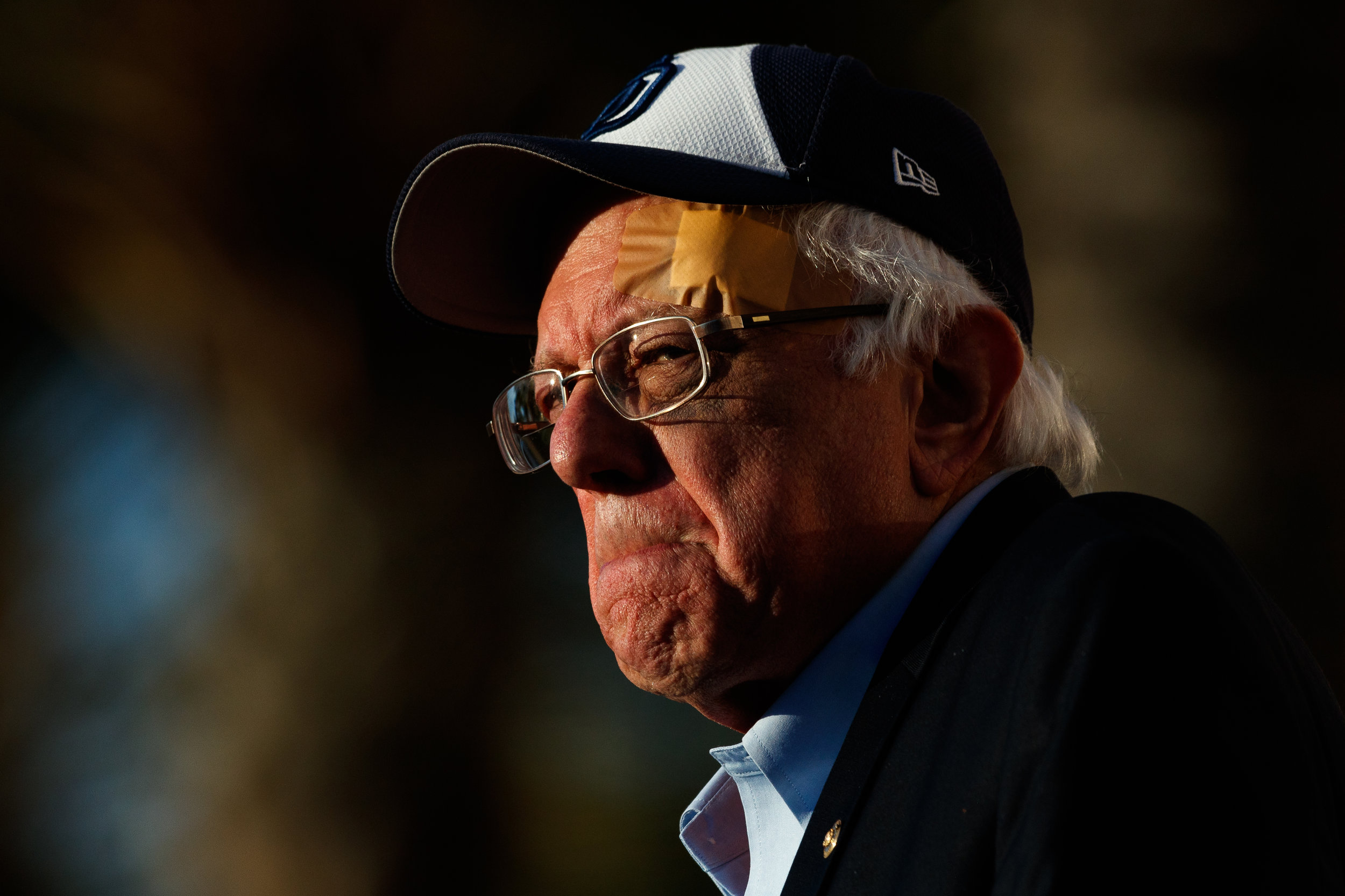 Presidential candidate Bernie Sanders at Waterfront Park in San Diego, Calif. on March 22, 2019. (Photos by Bryan Bennett)