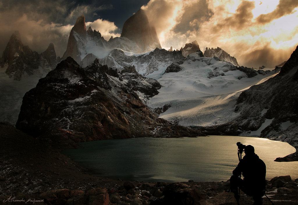 Alexandre Deschaumes - Fitz Roy Mountain, Lago de Los Tres. South Argentina, 2012