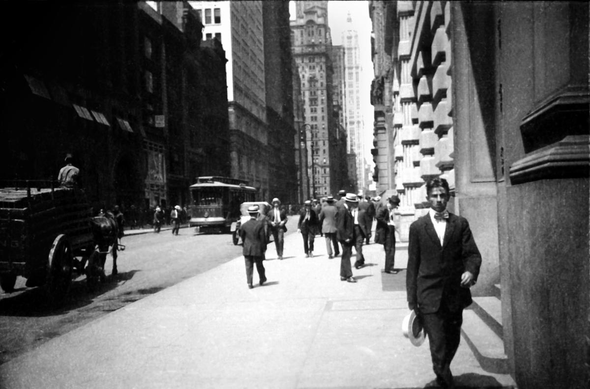 New York – Ernst Leitz II, 1914