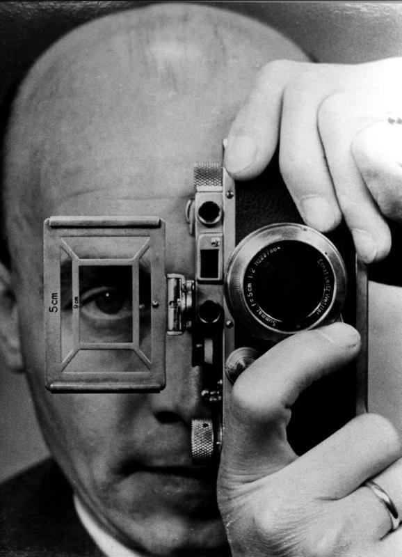 Self-portrait – UMBO (aka Otto Umbehr), 1952