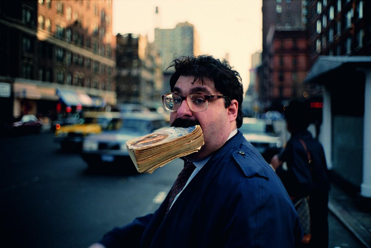 Sidewalk – Jeff Mermelstein, 1995