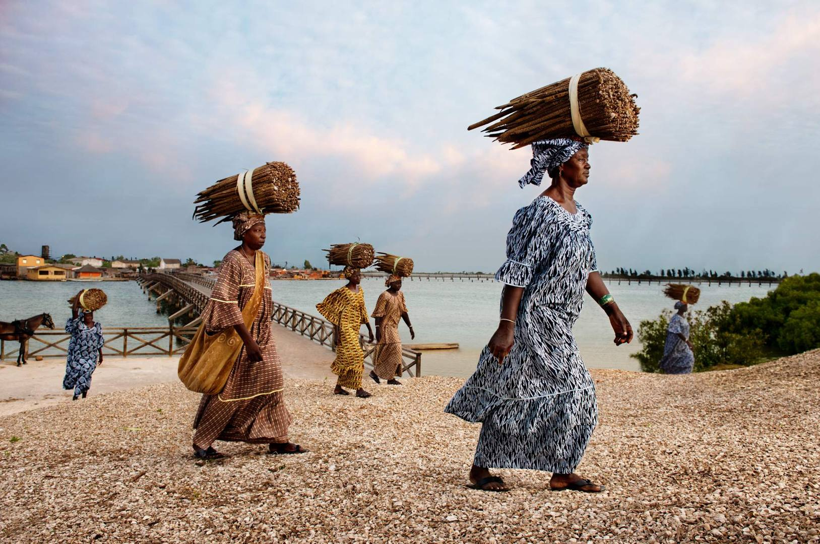 'Women of Fadiouth' - Anna Ndiaye (President of the Gie Mbel Saac Federation on Fadiouth Island in Senegal) fights to defend the quality of salted millet couscous
