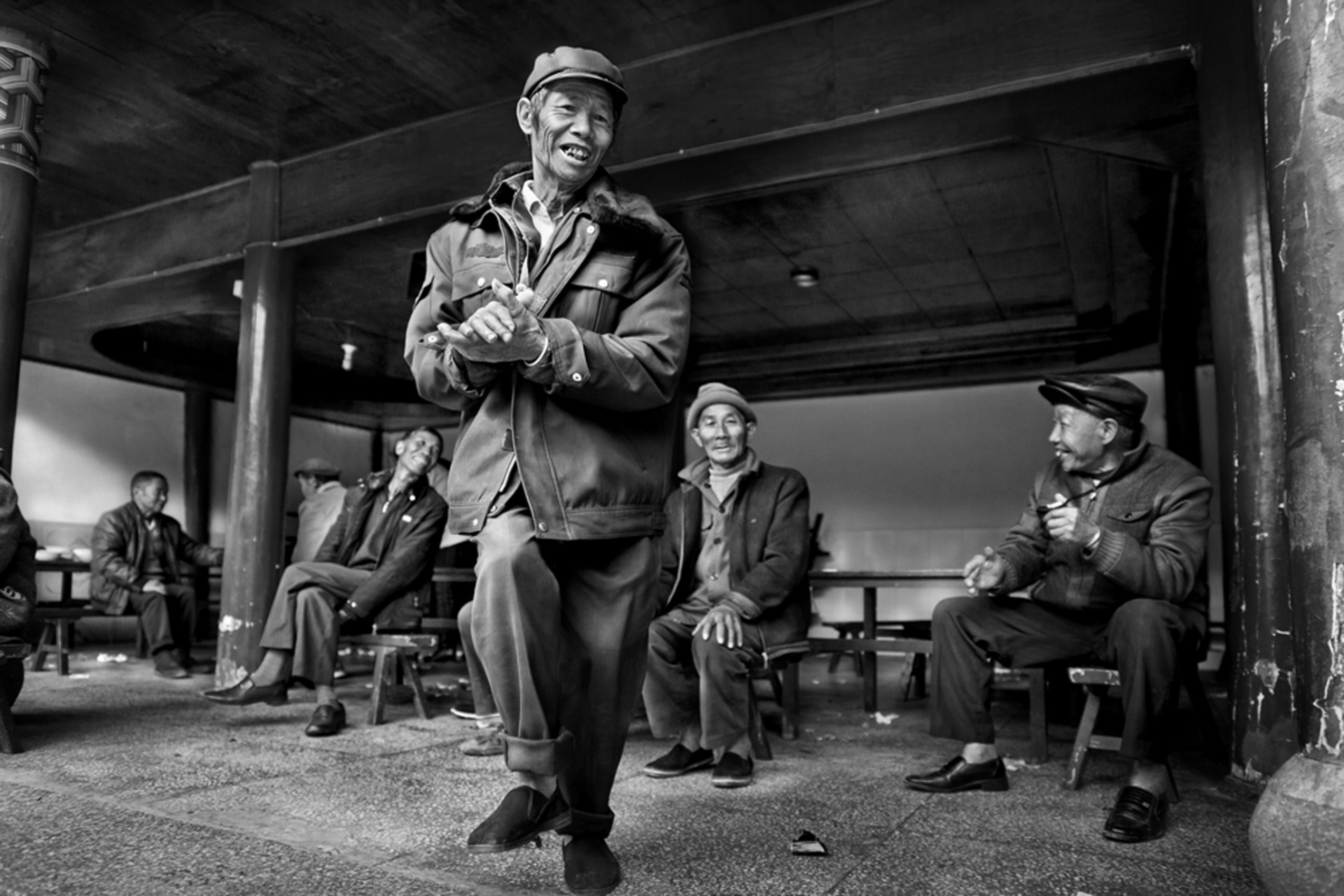 Tribes winner, Nick Ng Yeow Kee, Malaysia Forgotten faces of China - a greying society that is being left out of modernisation, rural Yunnan, China Photograph: Nick Ng Yeow Kee/TPOTY