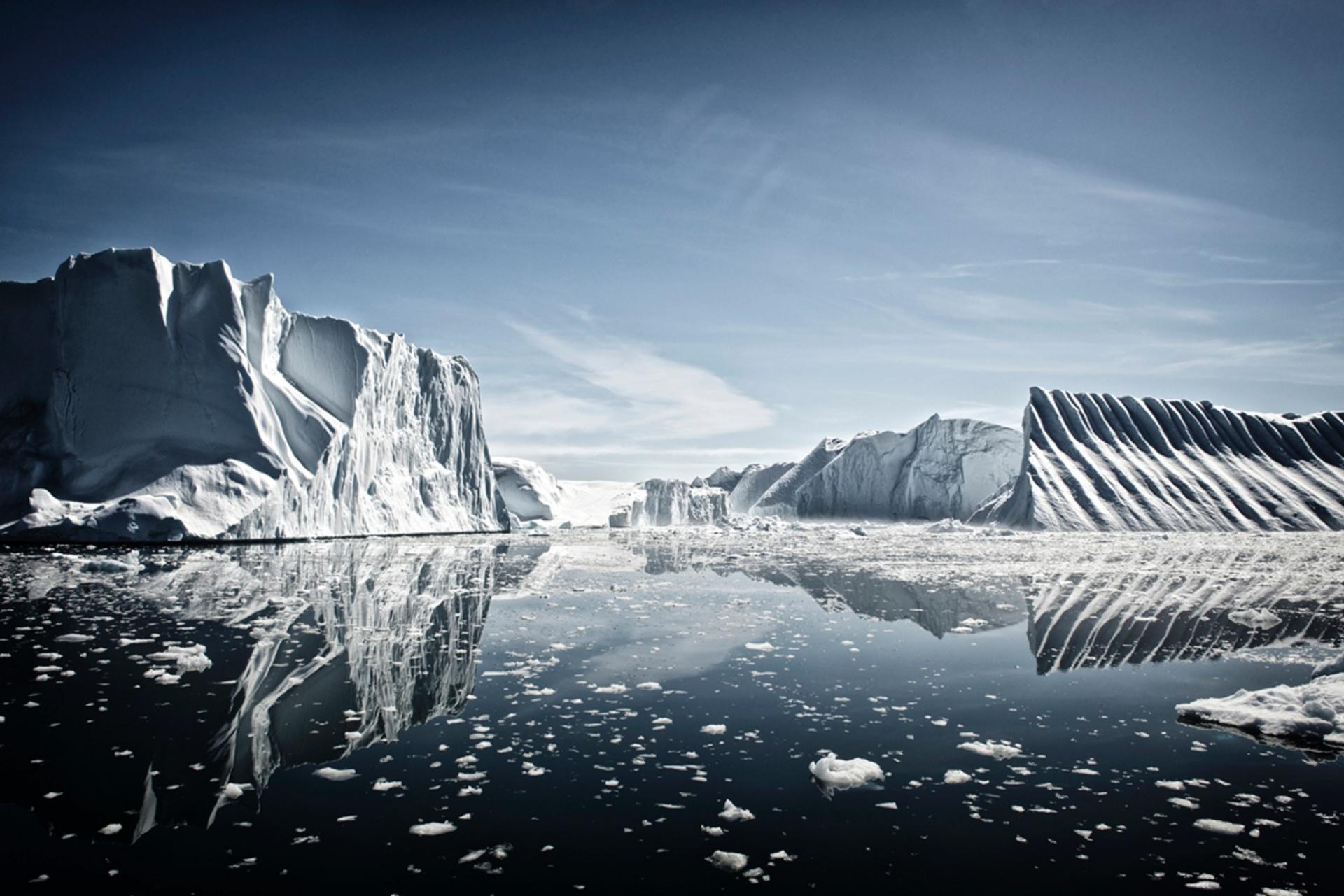 Earth, Air, Fire, Water, commended, Nicolas Lotsos, Greece Disco Bay, Greenland Photograph: Nicolas Lotsos/TPOTY