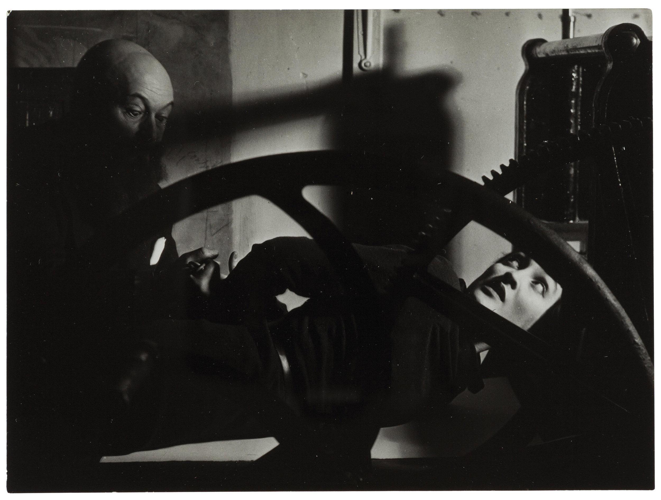 Man Ray,Méret Oppenheim, Louis Marcoussis, 1933