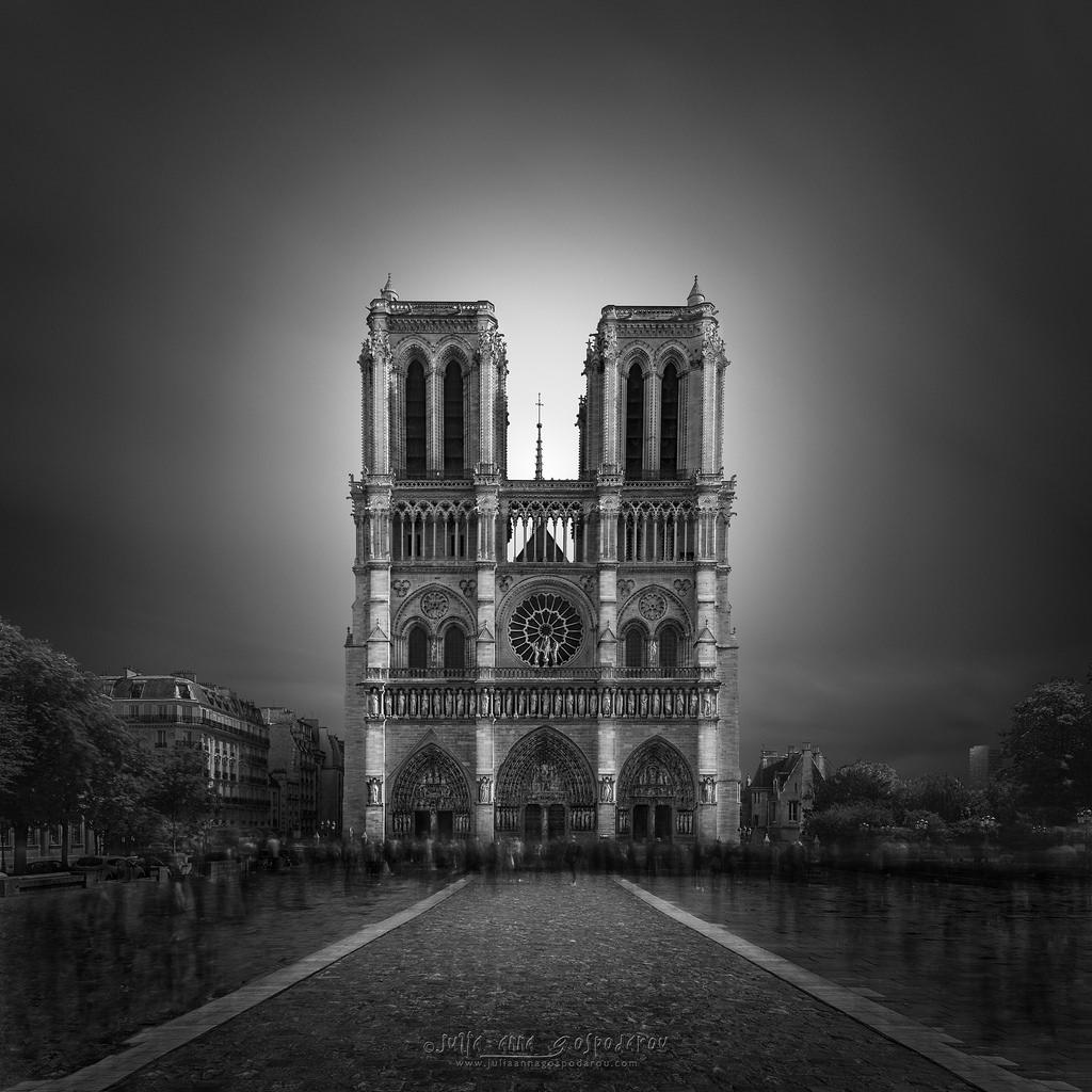 Enlightenment II - Notre Dame Cathedral Paris,Julia Anna Gospodarou