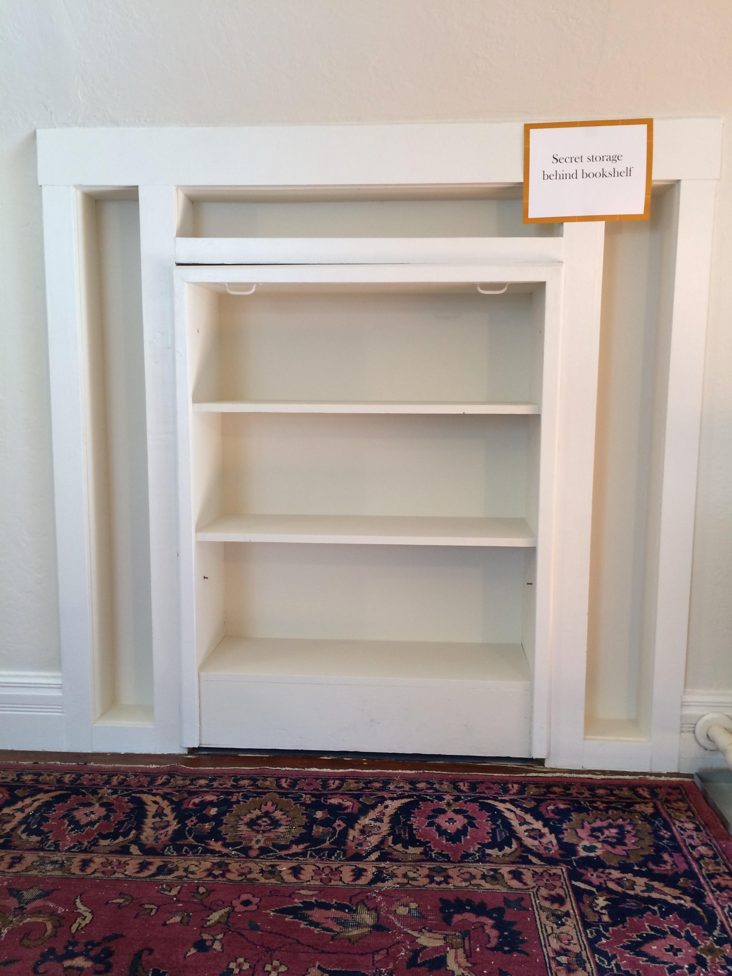 My dream home has a secret bookshelf.