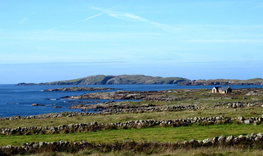 The Connemara peninsula