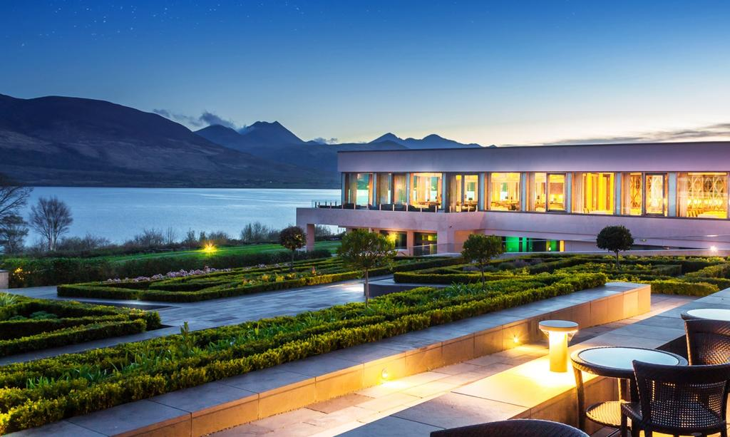 The Europe Hotel with views of the Lakes of Killarney