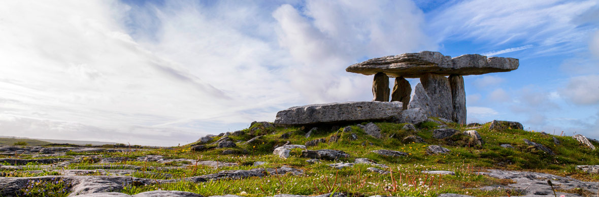 Limestone formations of The Burren