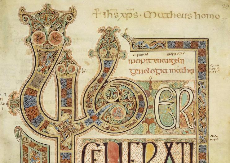The Illuminated Manuscript of The Book of Kells