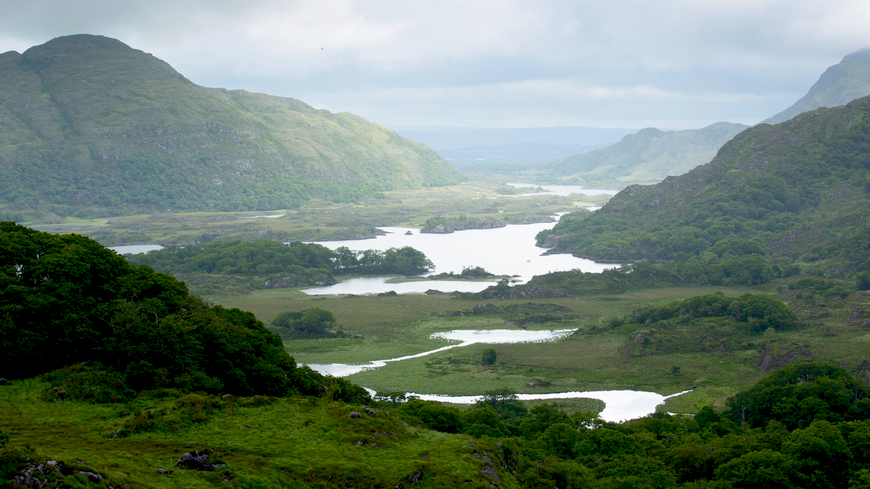 """The region of Kenmare is part of the """"Mini-Ring of Kerry"""""""