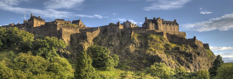 Impressive Edinburgh Castle