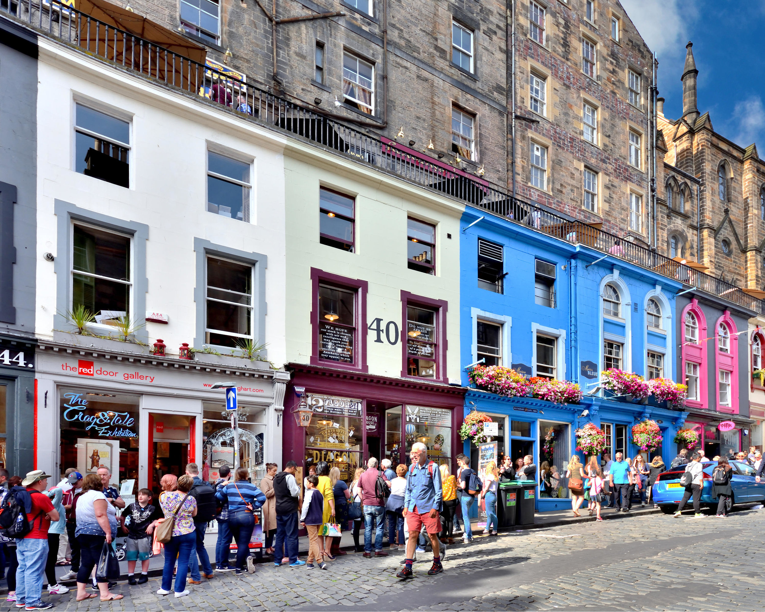 Old Town, Scotland