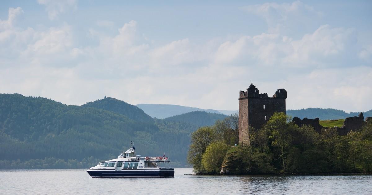 Cruising the Loch Ness