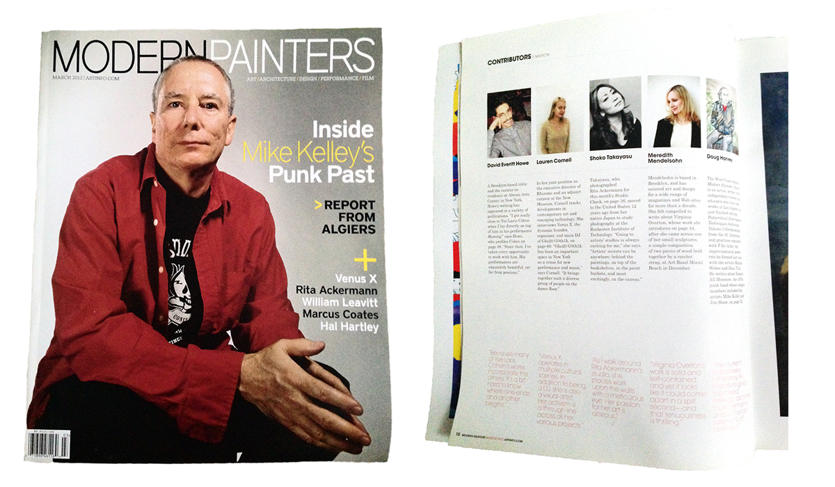 Modern Painters March 2012 Issue