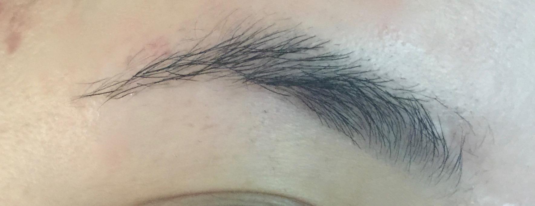 Natural  | Right eyebrow